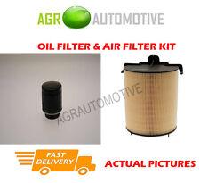 PETROL SERVICE KIT OIL AIR FILTER FOR SKODA SUPERB 1.4 125 BHP 2008-