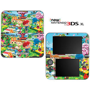 Animal-Crossing-New-Leaf-Spring-for-New-Nintendo-3DS-XL-Skin-Decal-Cover