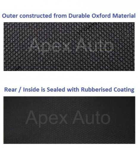 FORD TRANSIT JUMBO Waterproof Black Custom Van SEAT COVERS 100/% WATERPROOF NEW