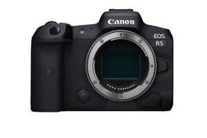 Canon-EOS-r5-Vollformat-Mirrorless-Digitalkamera-Koerper-Nur