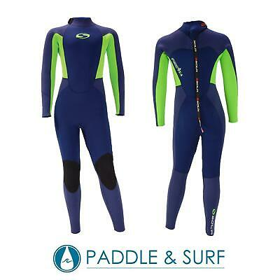 Sola Junior Fire 5//4mm Full Length Steamer Wetsuit Children Age 7-14 Winter