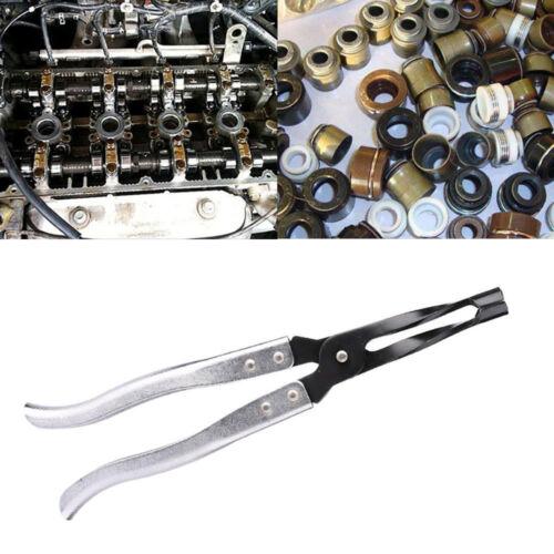 Engine Cylinder Head Valve Spring Stem Oil Seal Remover Installer Plier Tool