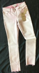 Lucky-Brand-Lolita-Skinny-Pink-Stretch-Jeans-Womens-Size-0-25-27-x-29-Low-Rise