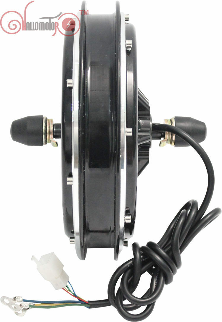 Risunmotor 36 48V 750W Brushless Gearless Front Hub Motor Electric Bicycle
