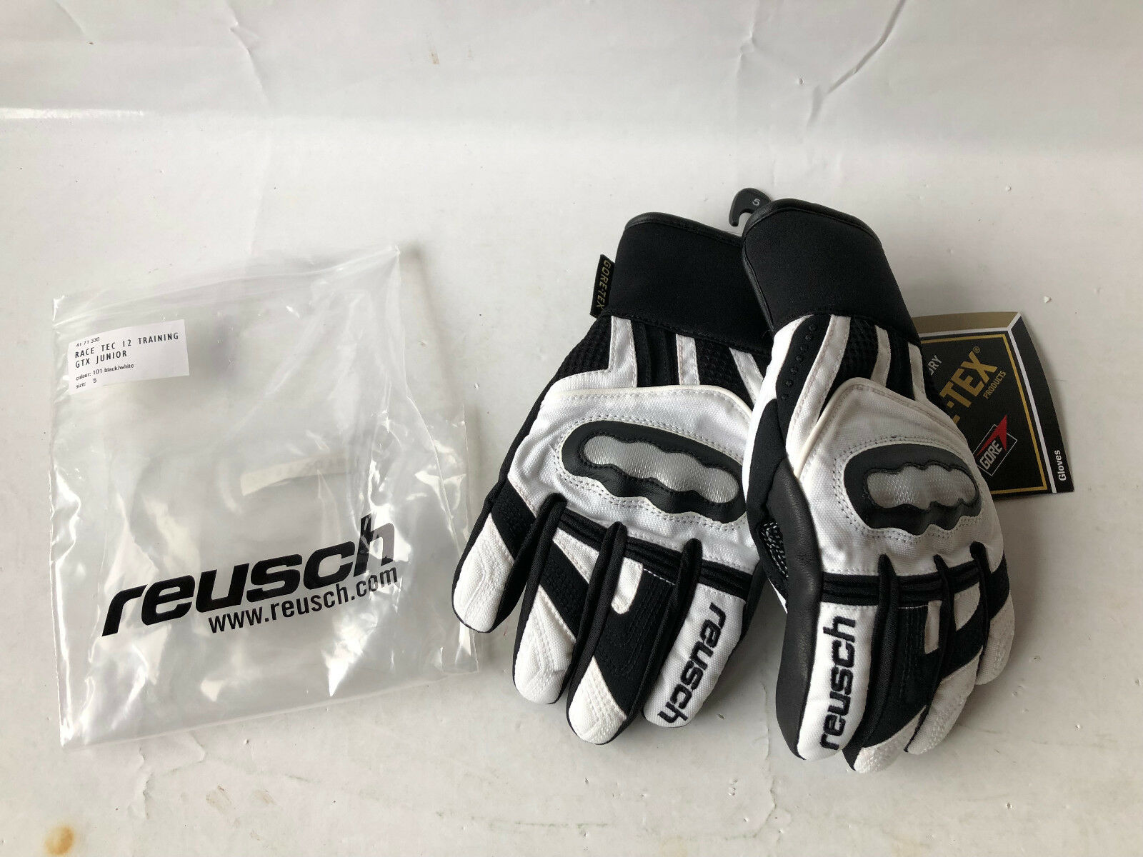Reusch top Racing Skihandschuhe RACE TEC 12 TRAINING GTX JUNIOR Gr. 5
