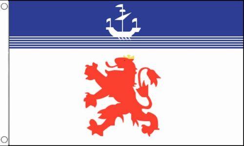 150cm x 90cm Flag Banner Devon Lion 5ft x 3ft