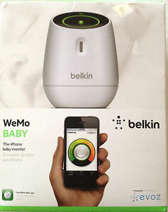 Wemo Baby The I Phone Monitor With Built In Wifi Visual