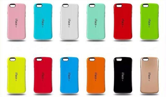 iFace Gel Shock-Absorbing Shockproof Hybrid Bumper Cover Case Skin for iPhone