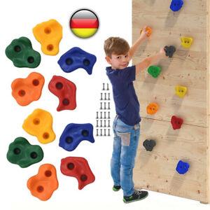 10-30 Stück Klettersteine mit Schrauben Klettergriffe für Kletterwand Spielturm