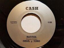 """ISRAEL y TONO - Ratitos / Despues de Muerto RARE 70's RANCHERA Bolero Latin 7"""""""