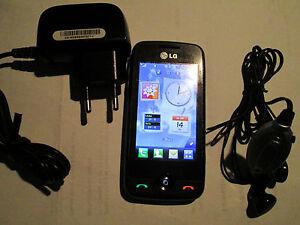 LG GS 290 Touch Display Simfrei Haed Set Lader super ok gebr 128 X