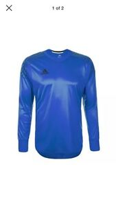 Image is loading Adidas-Onore-16-GK-Goalkeeper-Goalie-Jersey-Navy-