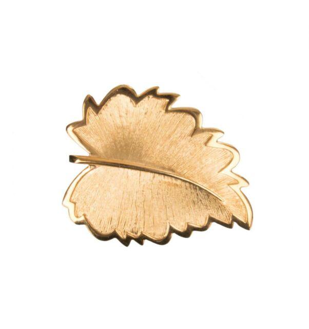 Dolce & Gabbana Runway Mamma Collection Leaf Hair Clip Gold Hairclip 07793