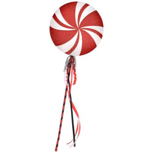 Giant Clown Circus Lollipop on Stick Prop Adult Childs Fancy Dress Accessory