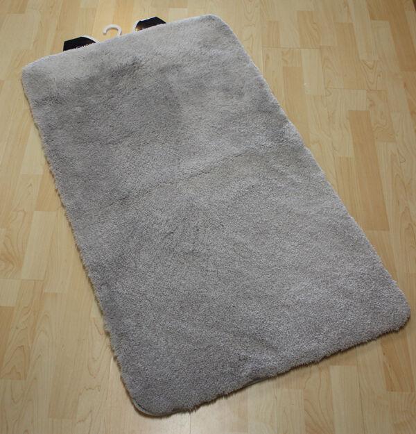 Alfombrillas de baño Milano gris CLARO 80x150cm