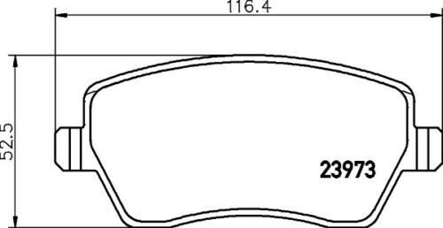 For Renault Clio III Modus//Grand Modus Front Brake Discs /& Pads Set