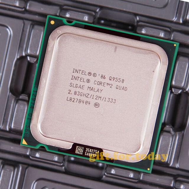 Original Intel Core 2 Quad Q9550S 283 GHz CoreAT80569AJ073NProcessor CPU