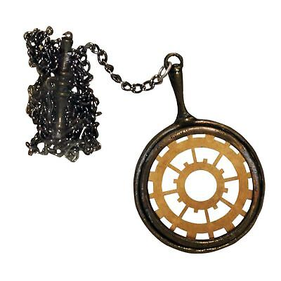 Gentleman/'s Monocle With Golden Chain Victorian 1920s Fancy Dress Accessory