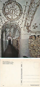 CEMETERY-OF-THE-CAPUCHINS-ROME-ITALY-UNUSED-COLOUR-POSTCARD