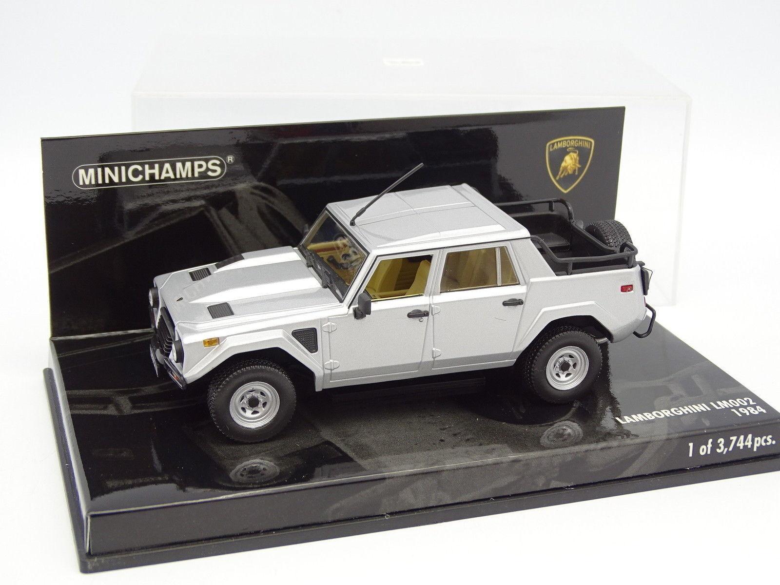 Minichamps 1 43 - Lamborghini LM002 Grey