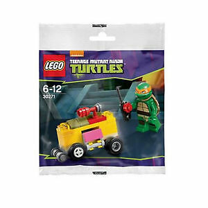 LEGO-30271-TMNT-Teenage-Mutant-Ninja-Turtle-Mikey-039-s-Mini-Shellraiser-polybag
