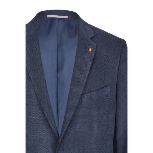 Atelier Torino Blazer Einreiher Sakko Abramo Blau classic Fit normaler Schnitt