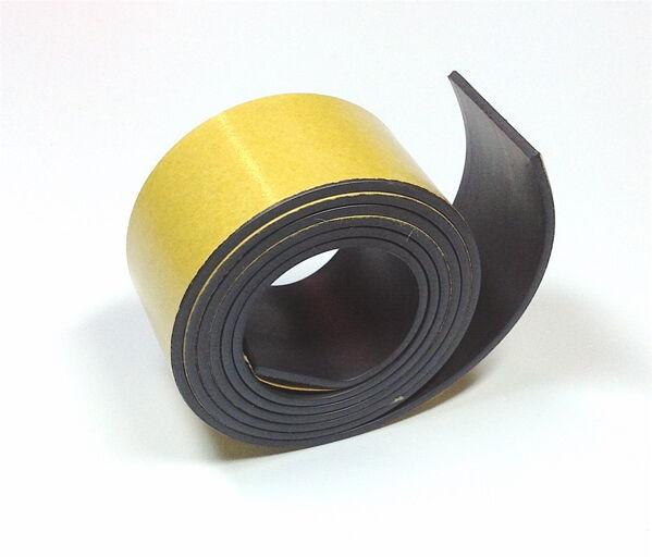 Magnetband selbstklebend 25mm Rolle Klebeband Klebestreifen magnetisch 760x25x2