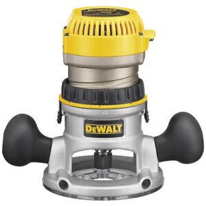 DEWALT-1-3-4-HP-Fixed-Base-Router-DW616-New