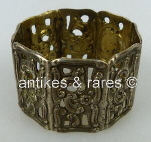 norb699 AusgewäHltes Material ZuverläSsig Ausgefallener Serviettenring In 800 Silber ag