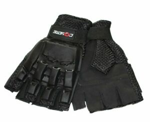 Details about Coyote Mountain Bike Tactical Half Finger Fingerless Padded  Cycling Gloves Mitts