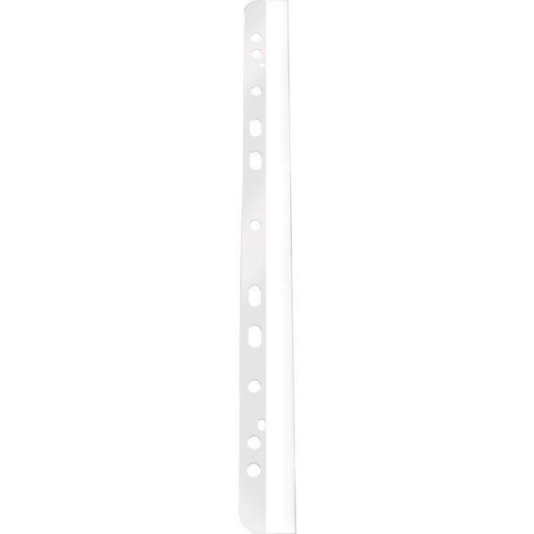 100x Q-Connect Abheftstreifen Heftstreifen transparent A4 29,5cm Ordner Hefter