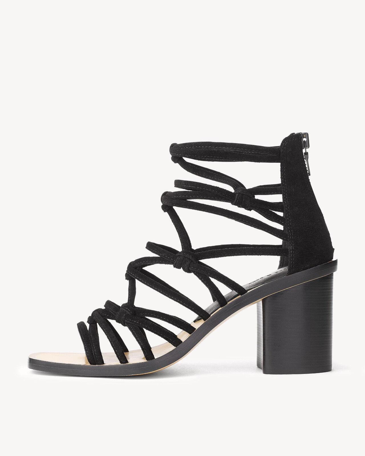 Rag & Bone Camille Macramé Sandalias De Tiras Negro Negro Negro Talla 40 9.5 10 Zapatos Increíble  tienda en linea