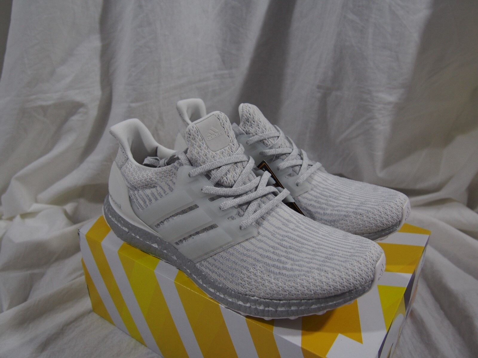 Adidas Ultra Boost 3.0 LTD BA8922 Crystal White   Silver Boost