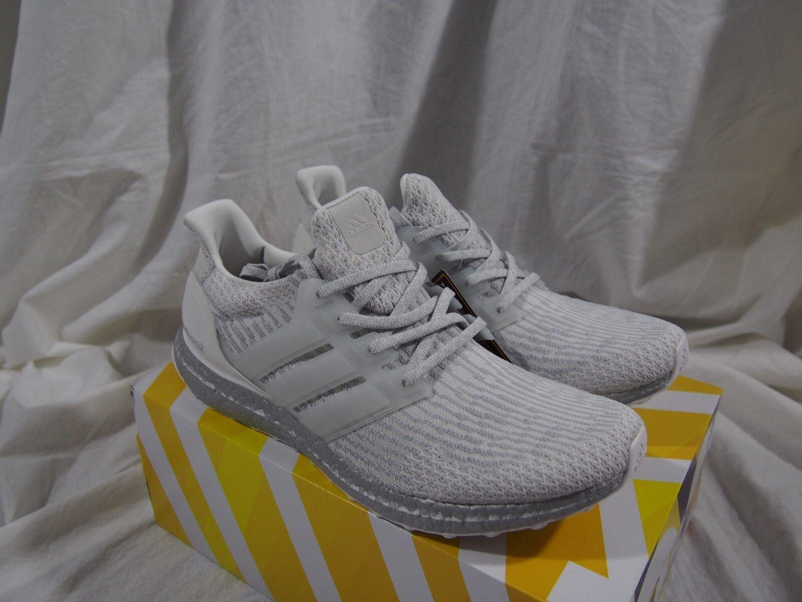 Adidas Ultra Boost 3.0 LTD BA8922 Crystal White / Silver Boost