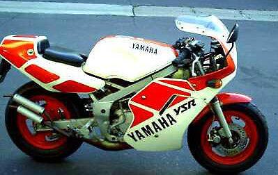 YAMAHA YSR50 GAG BIKE 2 COMPLETE DECAL SET