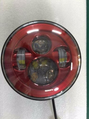 7 INCH RED 4.5 INCH FOG PROJECTOR DAYMAKER LED LIGHT BULB HEADLIGHT for Harley