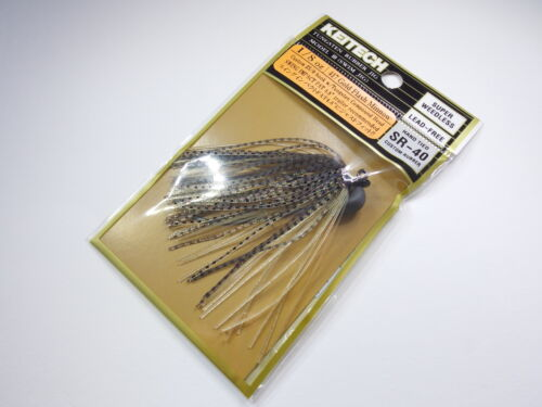Hook #5//0 #417 GOLD FLASH MINNOW TUNGSTEN RUBBER JIG Model lll 1//8oz KEITECH
