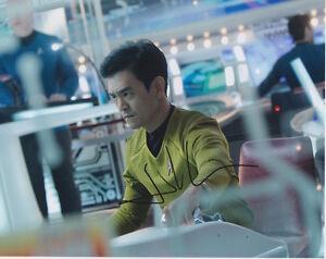 John Cho (Star Trek) signed authentic 8x10 photo COA