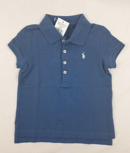 Ralph Lauren Girls Cotton Polo short Sleeve Top sizes 4,5