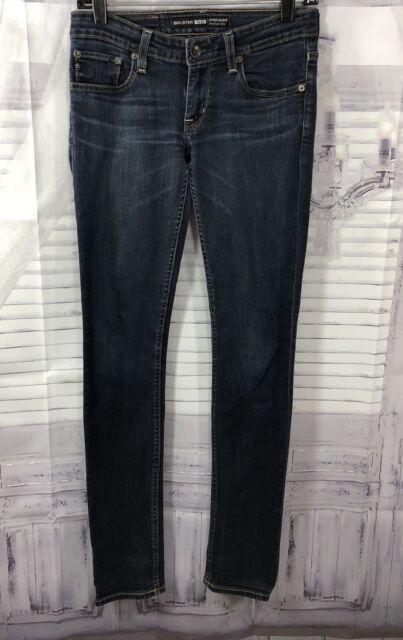 Big Star Womens Sweet Skinny Ultra Low Rise Jeans Med Wash Denim Sz 26R 26x31