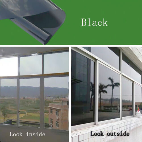 One-way Glass Self Adhesive Mirror window Film DIY Reflective Insulated Foil