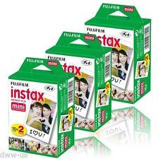 60 Sheet Fujifilm Fuji Instax Mini Instant Film for 7s 8 10 20 25 50  #F06  L012
