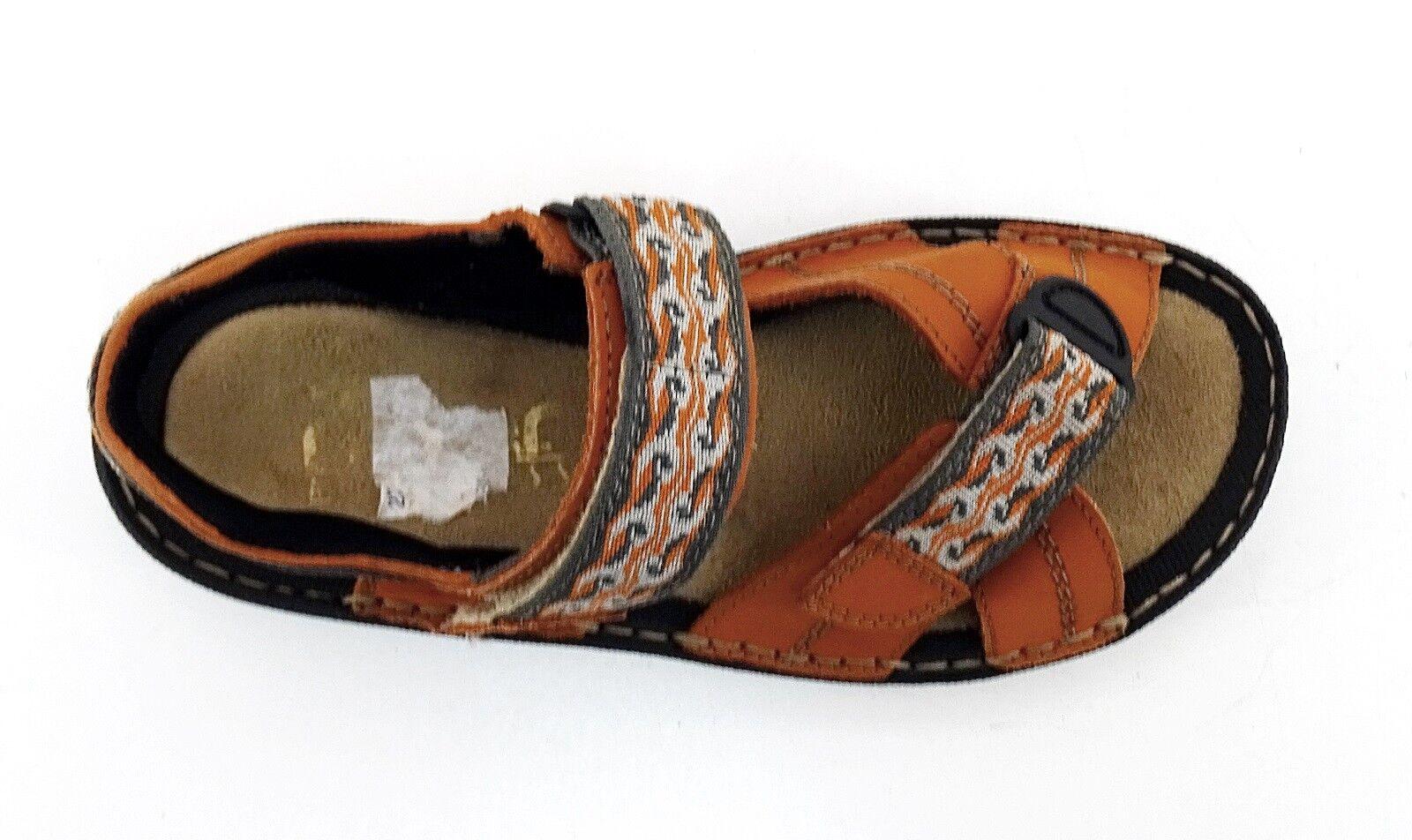 Sandalen Rieker Antistress Klettverschluss Outdoor Echtleder Textil Orange Gr.36 Gr.36 Gr.36 f70027