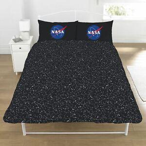 Nasa-I-Besoin-Mon-Espace-Set-Housse-de-Couette-Double-Neuf-Astronaute-Literie
