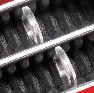 Guardhouse Capsule Storage Box /& 25 H39 Air-Tite 39mm Direct Fit Coin Holders