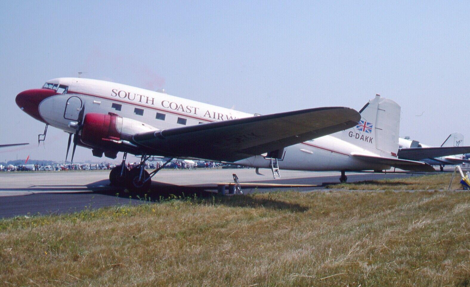 Original 35mm Aircraft slide  Douglas C-47A Skytrain #40