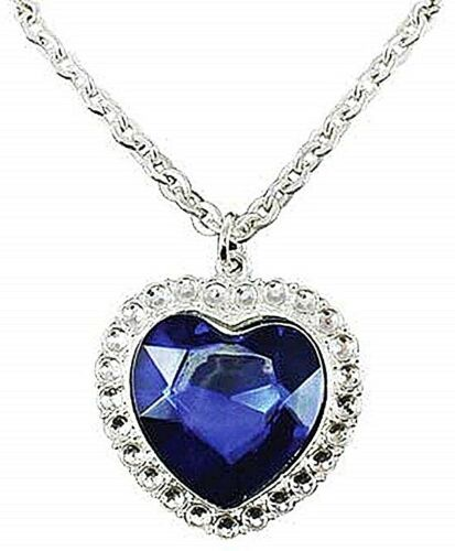 sg Titanic Collectors  Heart of the Ocean Necklace