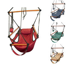 Hammock Hanging Chair Air Deluxe Outdoor Chair Solid Wood 250lb 4 Color