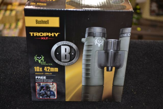 Bushnell 234210 Trophy XLT Bone Collector 10x42mm Green Binoculars