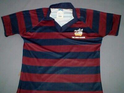 Brand New Taverham High School  Amber//Royal Rugby Shirt Size 42//44